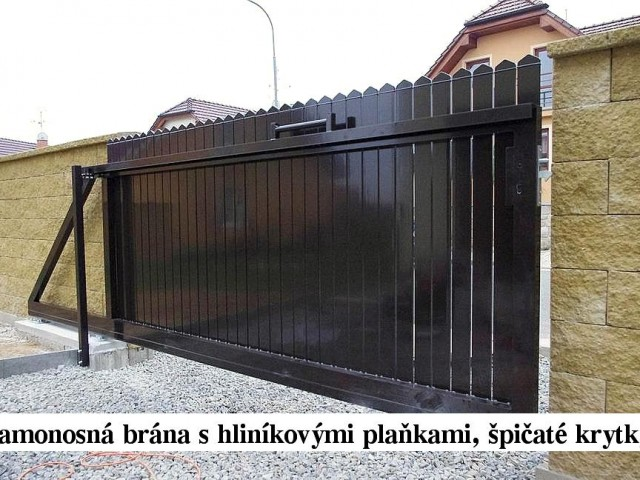 Reference - Pojezdové brány
