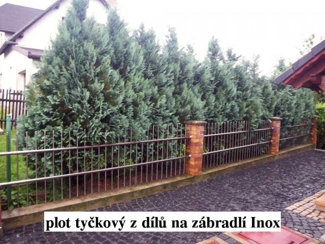 Reference - Ostatní hliníkové ploty