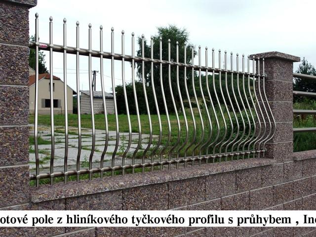 Reference - Hliníkové ploty tyčkové
