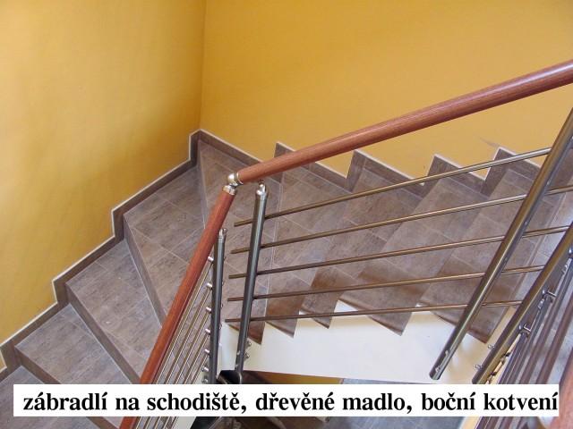 Reference - Hliníkové zábradlí na schodiště