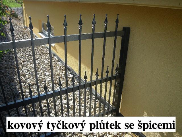 Reference - Kovové ploty