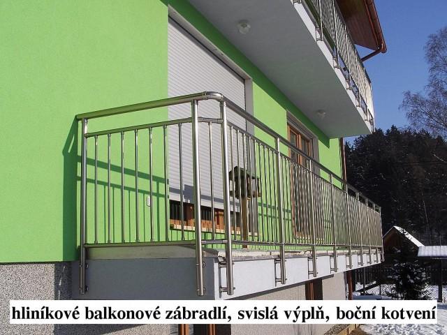 Reference - Hliníkové zábradlí na balkóny