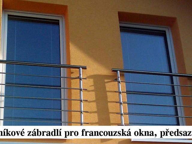 Reference - Hliníkové zábradlí na francouzská okna