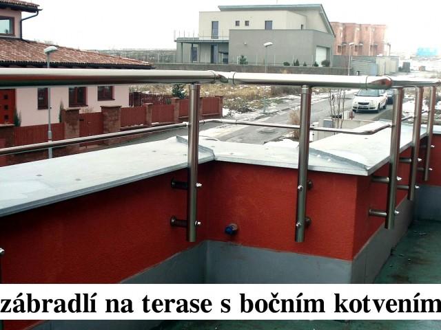Reference - Hliníkové zábradlí na terasy